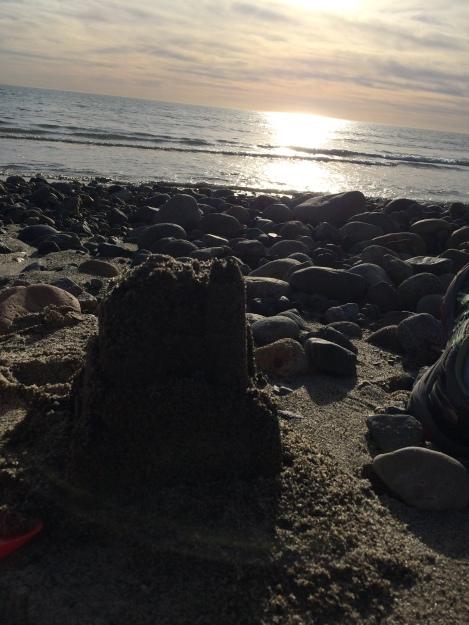 Sancastle on San Onofre Beach