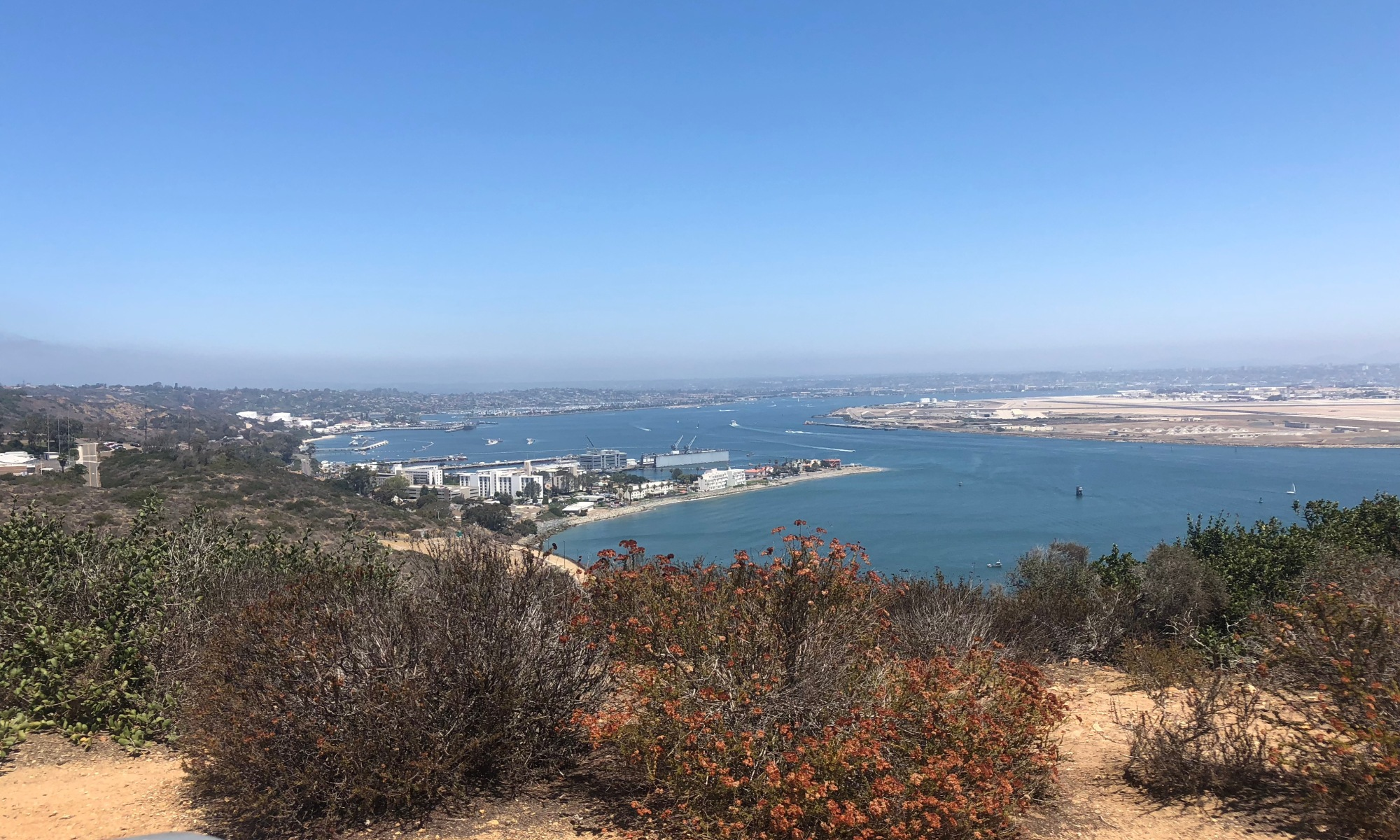 Overlook from Cabrillo NPS