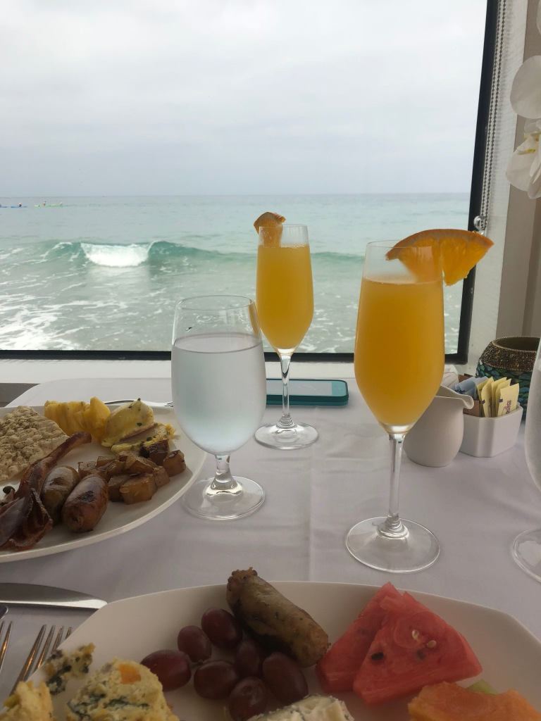 High Tide Breakfast at The Marine Room