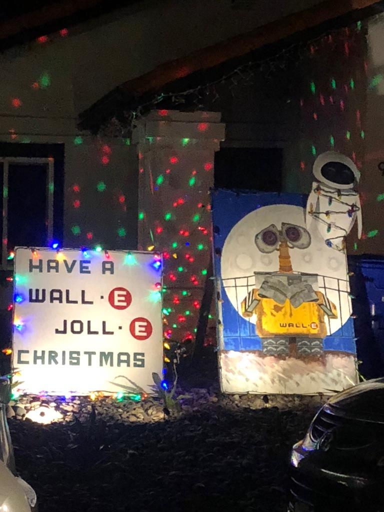 Christmas Card Lane.Christmas Lights Adventure At Christmas Card Lane San Diego