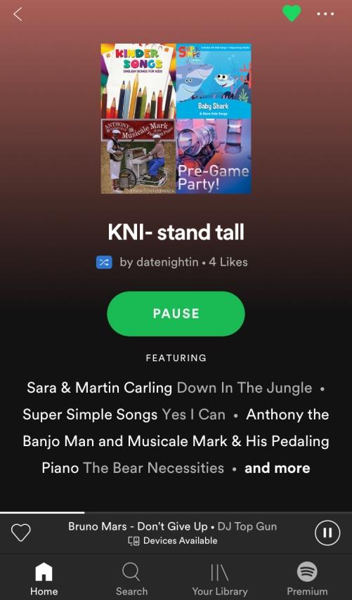 KNI Stand Tall