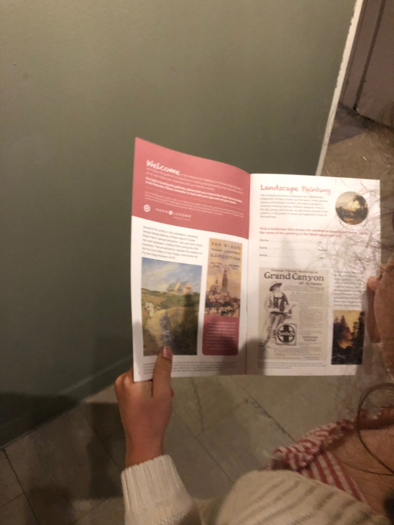 San Diego of Museum of Art - Pamphlets