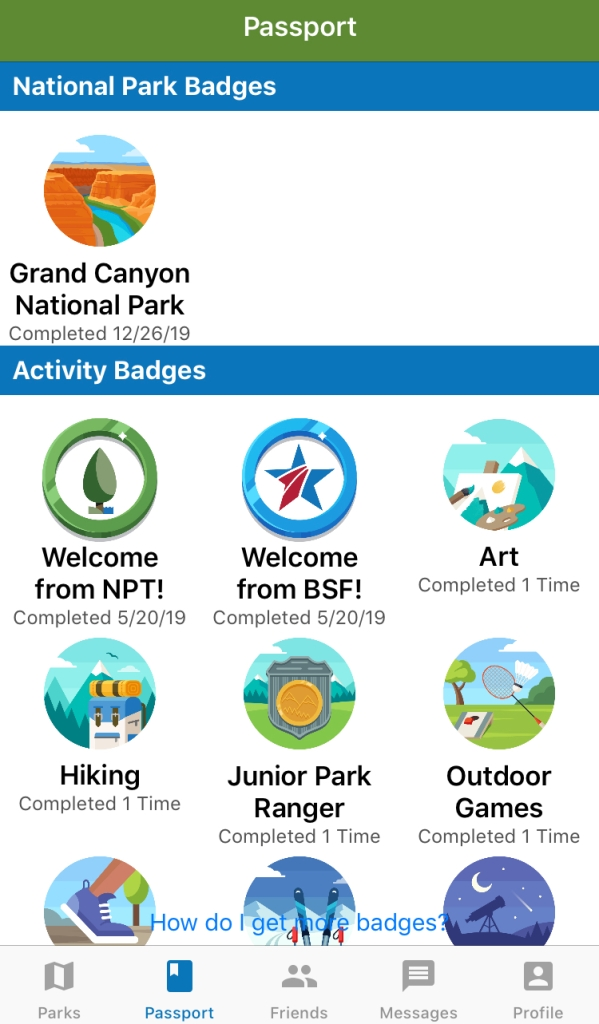 MilMomAdventures - Grand Canyon and Blue Star Parks